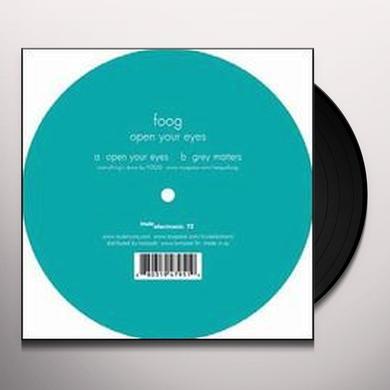 Foog OPEN YOUR EYES (EP) Vinyl Record