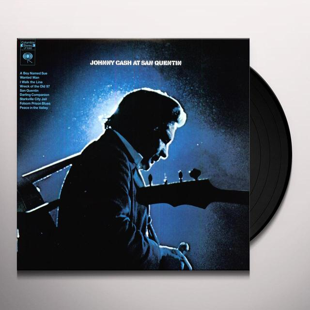 Johnny Cash AT SAN QUENTIN Vinyl Record
