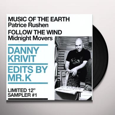 Danny Krivit EDITS BY MR K 2: MUSIC OF THE EARTH 1 Vinyl Record