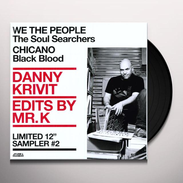 Danny Krivit EDITS BY MR K 2: MUSIC OF THE EARTH 2 Vinyl Record
