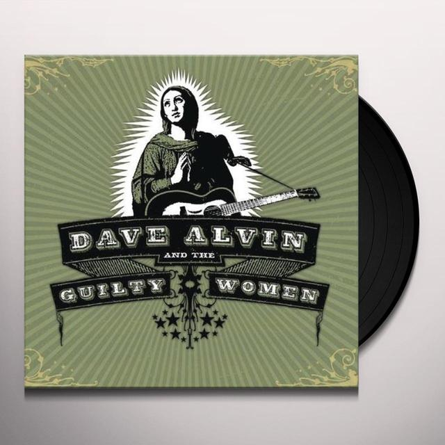 DAVE ALVIN & GUILTY WOMEN Vinyl Record