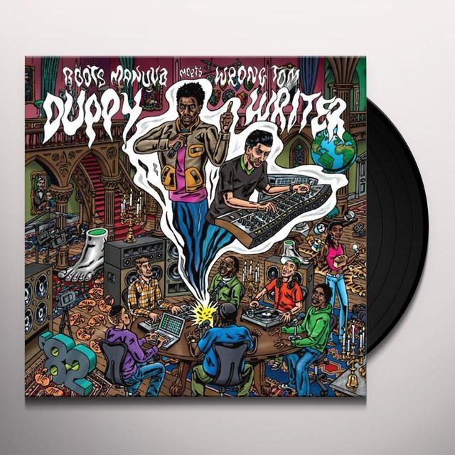Roots Manuva / Wrongtom DUPPY WRITER Vinyl Record