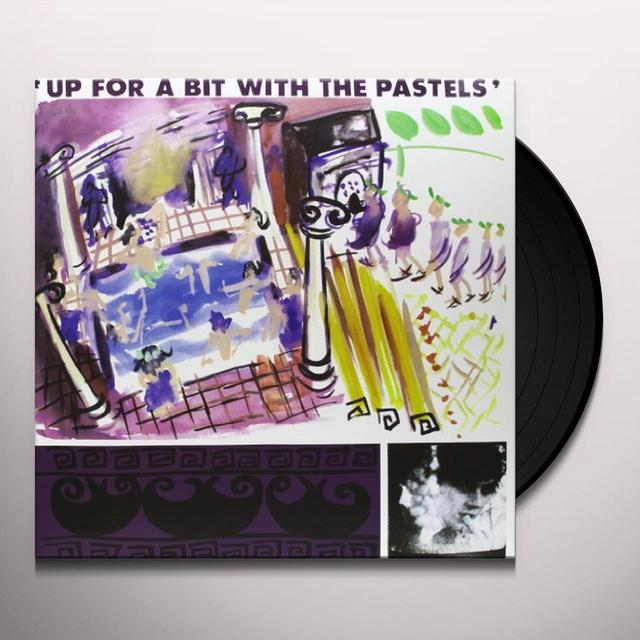UP FOR A BIT WITH THE PASTELS Vinyl Record