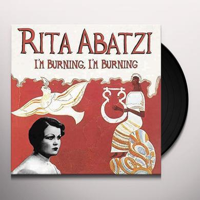 Rita Abatzi IM BURNING IM BURNING Vinyl Record