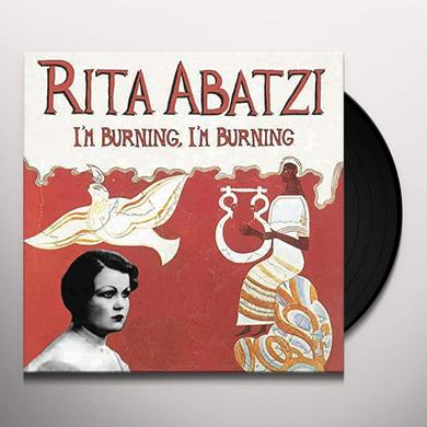 Rita Abatzi IM BURNING IM BURNING Vinyl Record