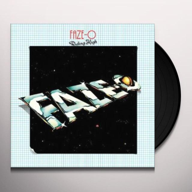 Faze-O RIDING HIGH Vinyl Record