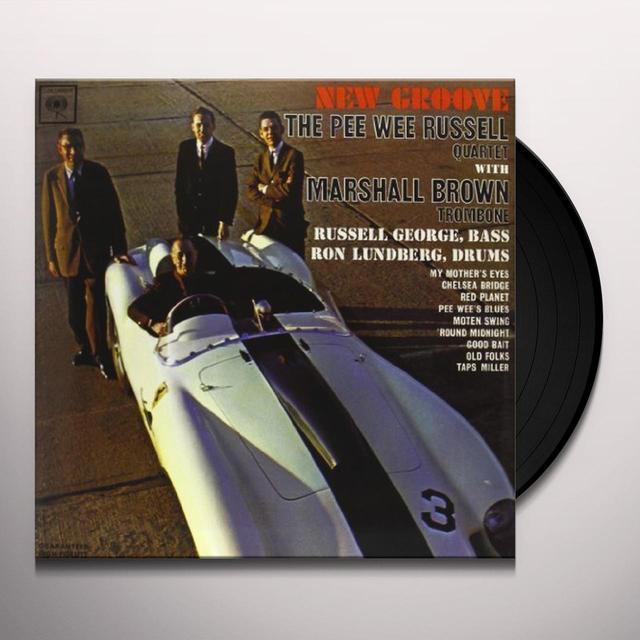 Pee Wee Russell NEW GROOVE Vinyl Record - 180 Gram Pressing