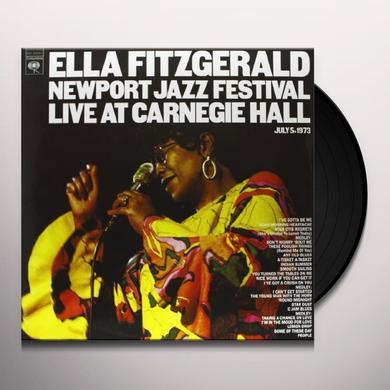 Ella Fitzgerald NEWPORT JAZZ FESTIVAL LIVE AT CARNEGIE HALL Vinyl Record