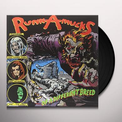 Runnamucks OF A DIFFERENT BREED Vinyl Record