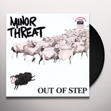 Minor Threat OUT OF STEP Vinyl Record - MP3 Download Included, Reissue