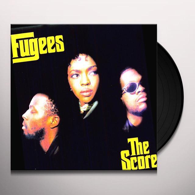 Fugees SCORE Vinyl Record