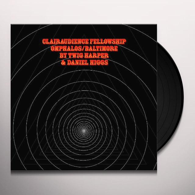 Twig Harper / Daniel Higgs CLAIRAUDIENCE FELLOWSHIP Vinyl Record - Digital Download Included