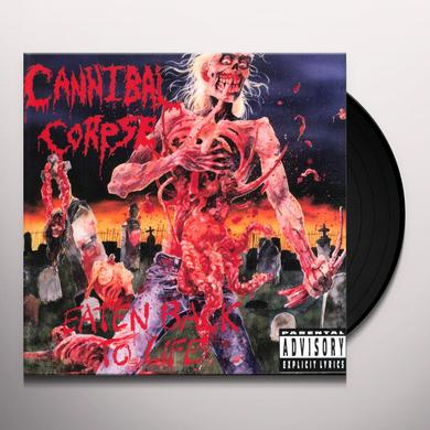 Cannibal Corpse EATEN BACK TO LIFE Vinyl Record - Limited Edition, 180 Gram Pressing