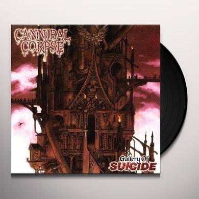 Cannibal Corpse GALLERY OF SUICIDE Vinyl Record - Limited Edition, 180 Gram Pressing