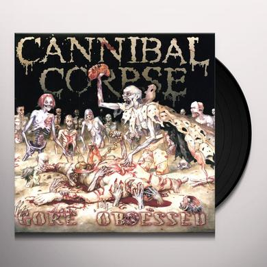 Cannibal Corpse GORE OBSESSED Vinyl Record - Limited Edition, 180 Gram Pressing