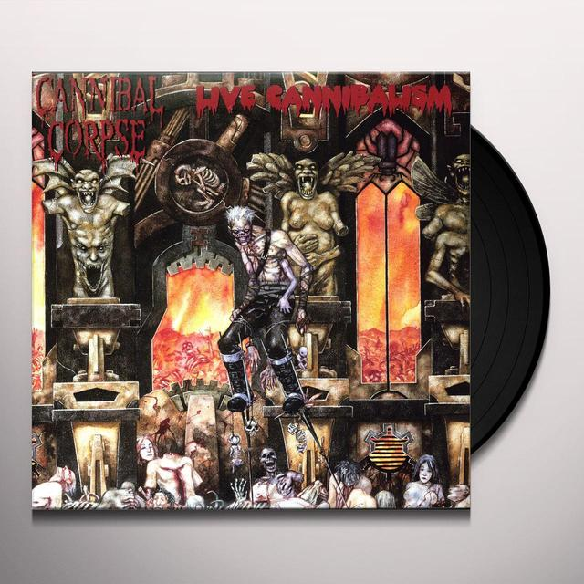 Cannibal Corpse LIVE CANNIBALISM Vinyl Record - Limited Edition, 180 Gram Pressing