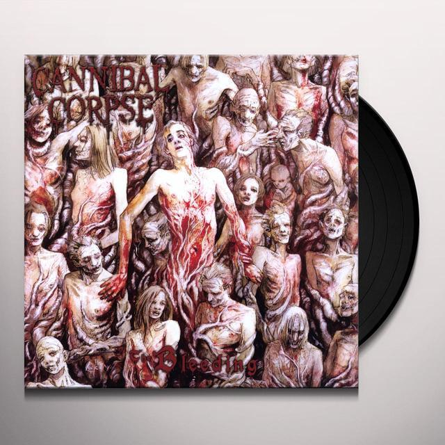 Cannibal Corpse BLEEDING Vinyl Record - Limited Edition, 180 Gram Pressing