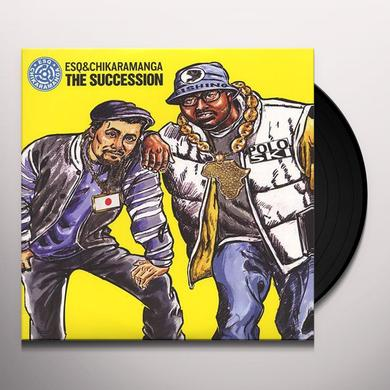Esq / Chikaramanga SUCCESSION Vinyl Record