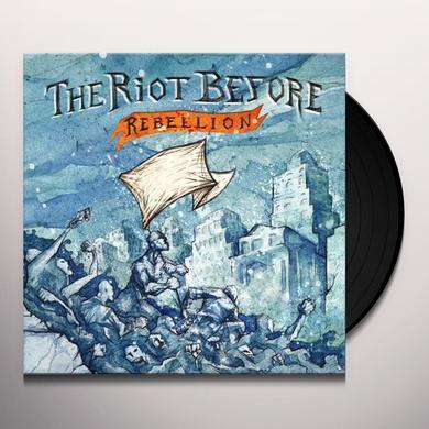 Riot Before REBELLION Vinyl Record - w/CD