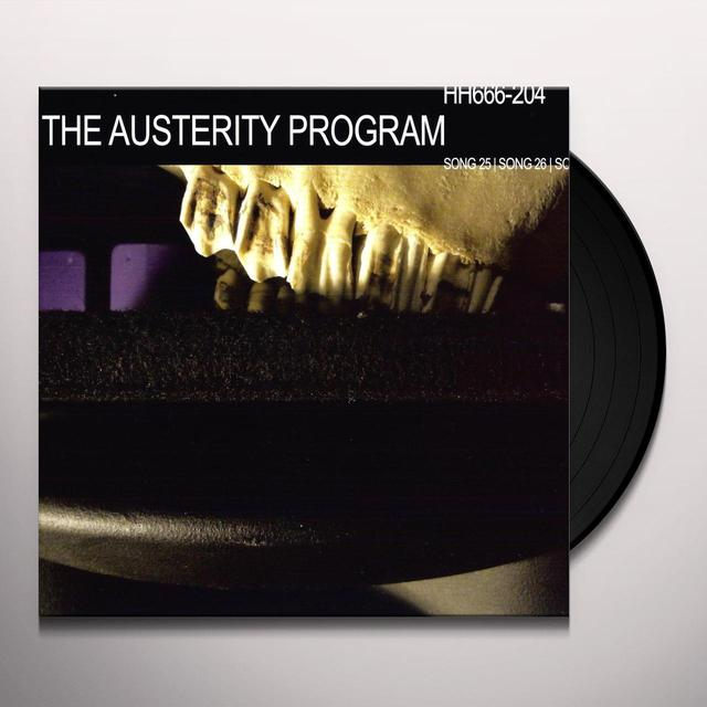 Austerity Program BACKSLIDERS & APOSTATES WILL BURN Vinyl Record