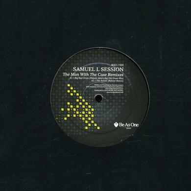 Samuel L Session MAN WITH THE CASE REMIXES Vinyl Record