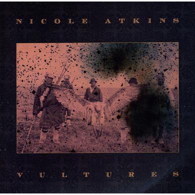 Nicole Atkins VULTURES / VITAMIN C Vinyl Record