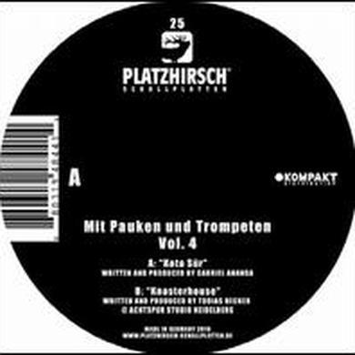 Mit Pauken Und Trompeten 4 / Various (Ep) MIT PAUKEN UND TROMPETEN 4 / VARIOUS Vinyl Record