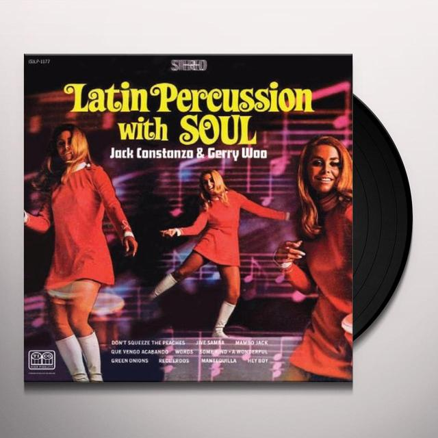 Jack Costanzo LATIN PERCUSSION WITH SOUL Vinyl Record
