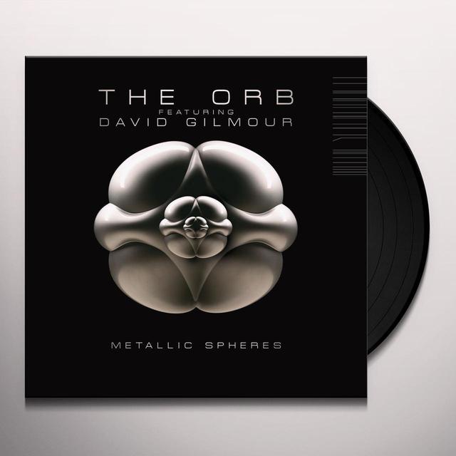Orb Featuring David Gilmour METALLIC SPHERES  (DLI) Vinyl Record - 180 Gram Pressing