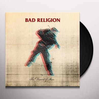 Bad Religion DISSENT OF MAN Vinyl Record - w/CD
