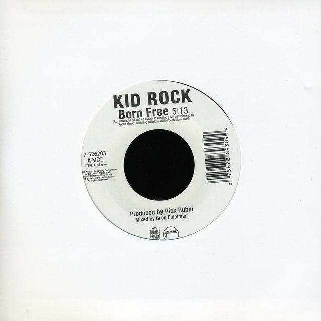 Kid Rock BORN FREE Vinyl Record