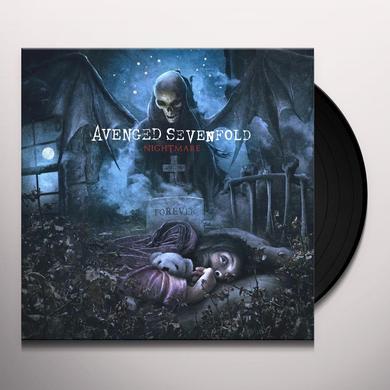 Avenged Sevenfold NIGHTMARE Vinyl Record - Black Vinyl