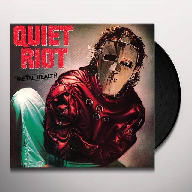 Quiet Riot METAL HEALTH Vinyl Record - Limited Edition, 180 Gram Pressing