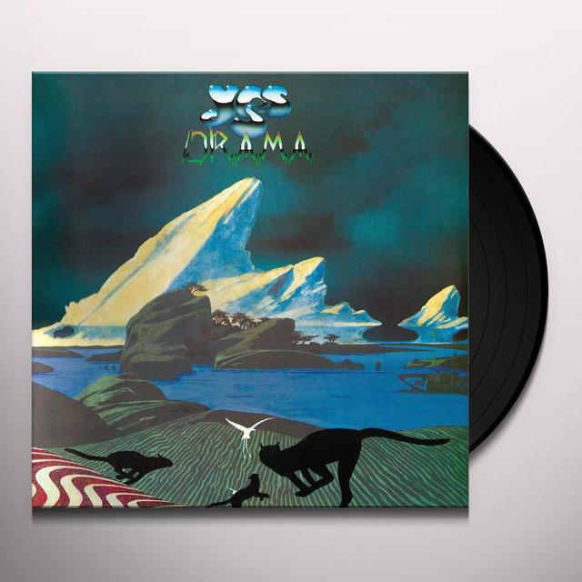 Yes DRAMA Vinyl Record - Limited Edition, 180 Gram Pressing