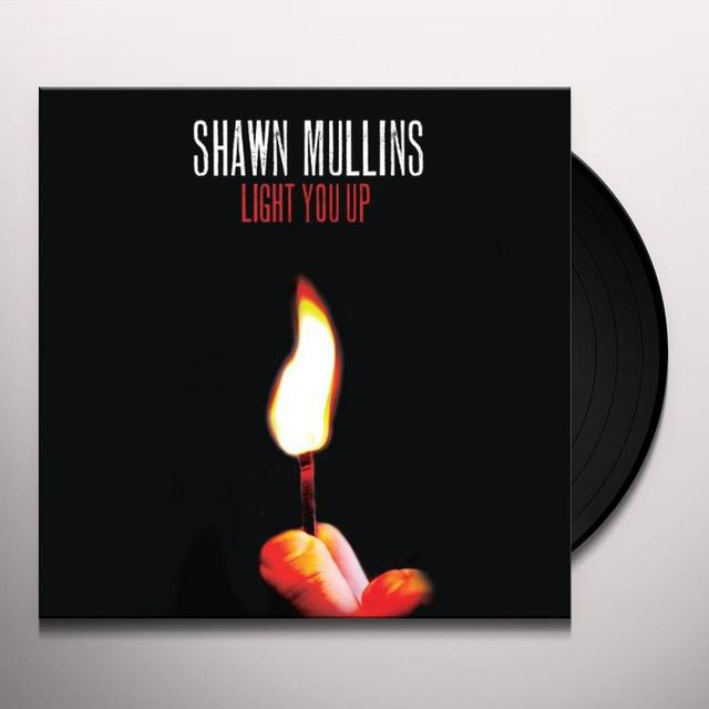 Shawn Mullins LIGHT YOU UP Vinyl Record