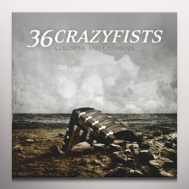 36 Crazyfists COLLISIONS & CASTAWAYS Vinyl Record - Colored Vinyl