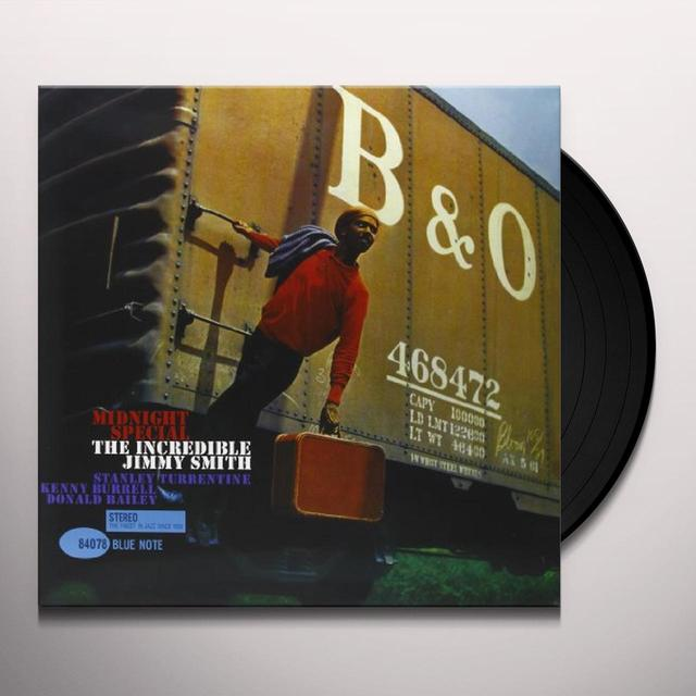 Jimmy Smith MIDNIGHT SPECIAL Vinyl Record - 180 Gram Pressing