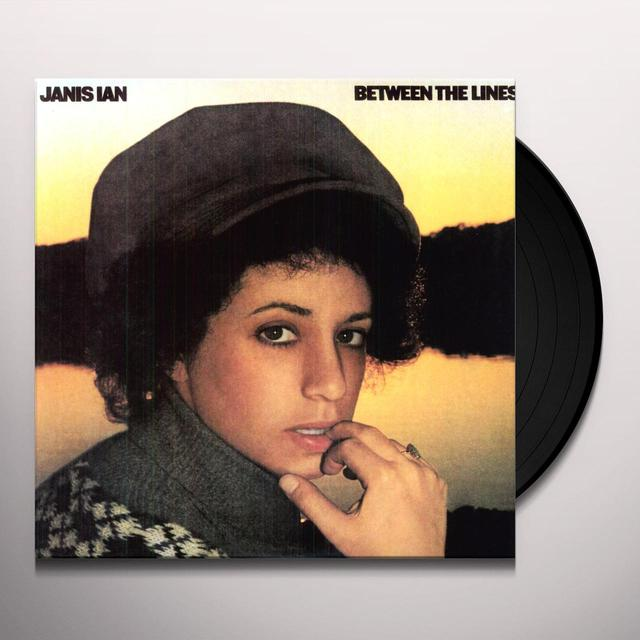 Janis Ian BETWEEN THE LINES Vinyl Record - 180 Gram Pressing