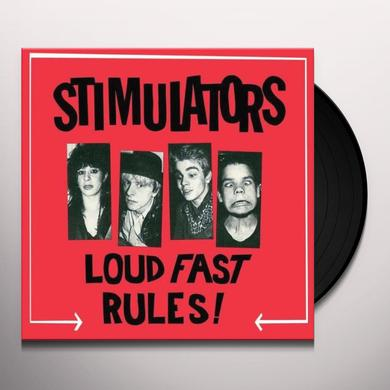 Stimulators LOUD FAST RULES Vinyl Record