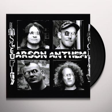 Arson Anthem INSECURITY NOTORIETY Vinyl Record