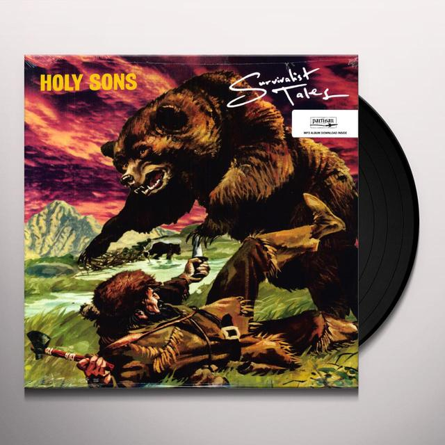 Holy Sons SURVIVALIST TALES Vinyl Record