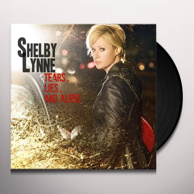 Shelby Lynne TEARS LIES & ALIBIS Vinyl Record - Limited Edition