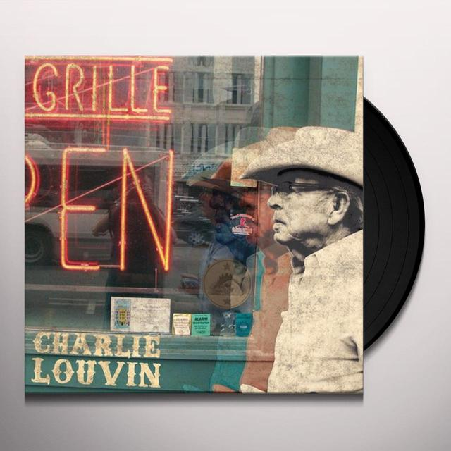 Charlie Louvin BACK WHEN WE WERE YOUNG (SLIP) Vinyl Record