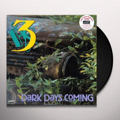 Three DARK DAYS COMING Vinyl Record - Remastered, MP3 Download Included, Reissue