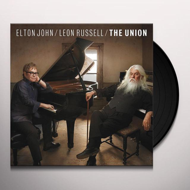 Elton John / Leon Russell UNION Vinyl Record