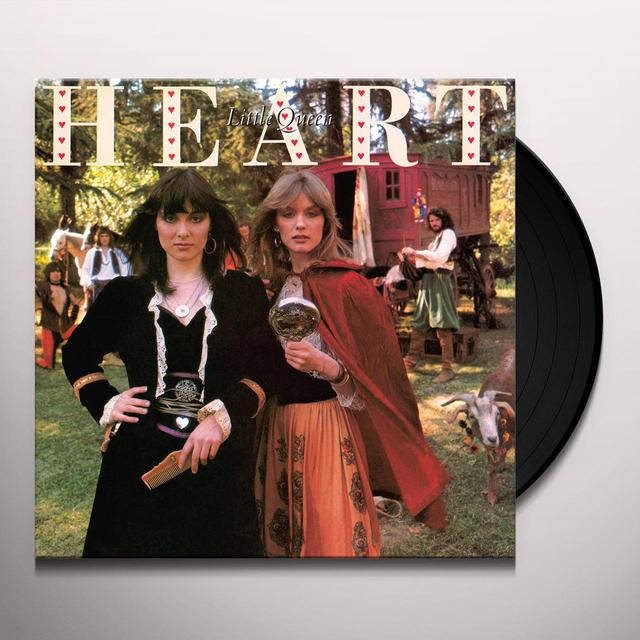 Heart LITTLE QUEEN Vinyl Record - Limited Edition, 180 Gram Pressing