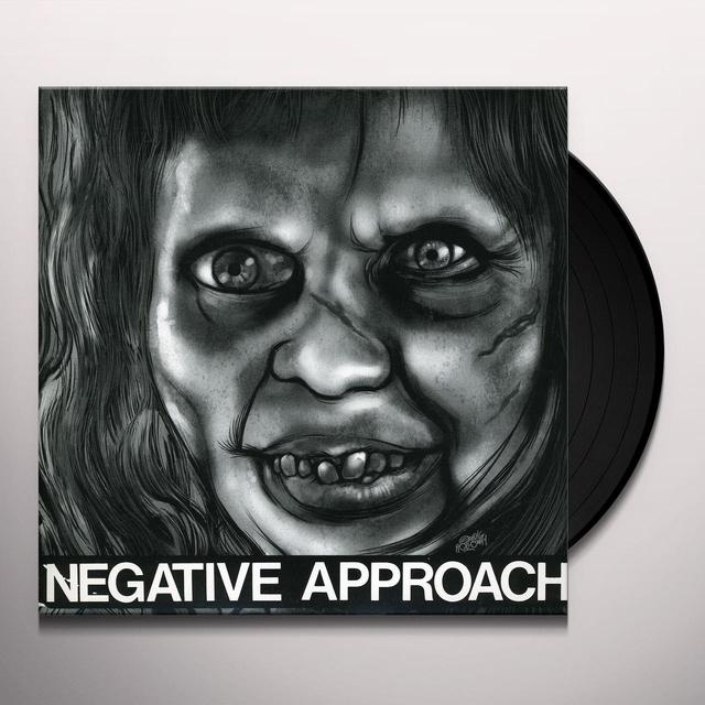 "Negative Approach 10-SONG 7"" EP (EP) Vinyl Record"