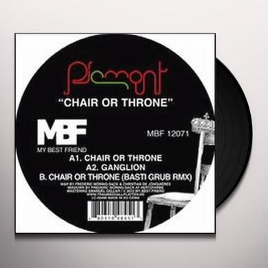 Piemont CHAIR OR THRONE (EP) Vinyl Record