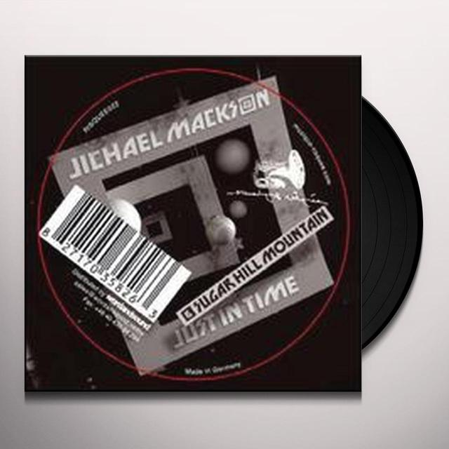 Jichael Mackson JUST IN TIME Vinyl Record
