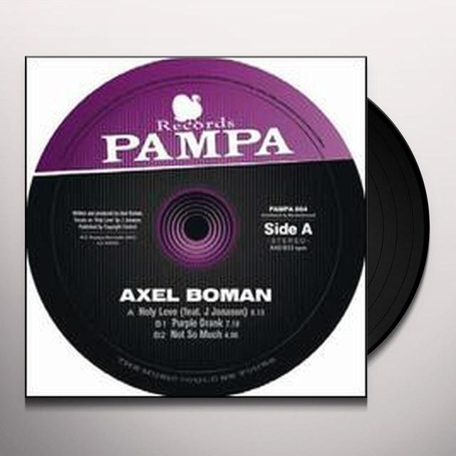 Axel Boman HOLY LOVE (EP) Vinyl Record
